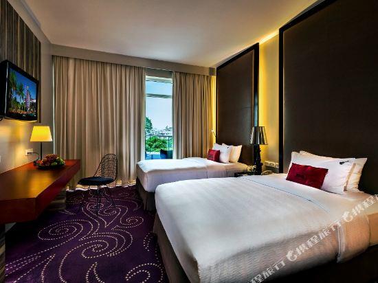 芭堤雅硬石酒店(Hard Rock Hotel Pattaya)城景豪華房