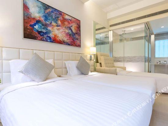 香港富薈灣仔酒店(iclub Wan Chai Hotel)卓薈Premier加梳化床