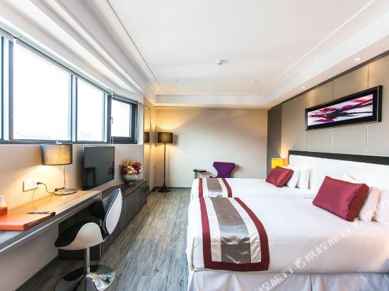 高雄蒂亞飯店-愛河館(Hotel-D)豪華雙人房