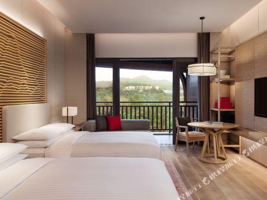深圳佳兆業萬豪酒店(Shenzhen Marriott Hotel Golden Bay)豪華海景雙床房