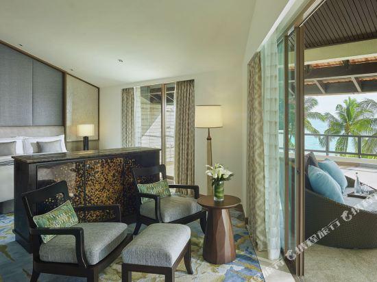 哥打京那巴魯香格里拉丹絨亞路酒店(Shangri-La's Tanjung Aru Resort & Spa Kota Kinabalu)丹絨樓總統海景套房