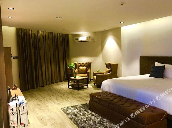 芭堤雅T酒店(T Pattaya Hotel)蜜月套房