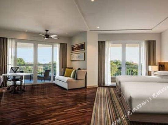 華欣希爾頓温泉度假酒店(Hilton Hua Hin Resort & Spa)行政精緻雙床套房