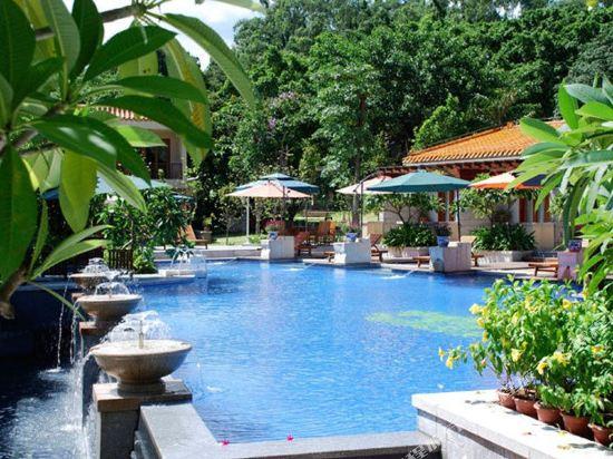 中山温泉賓館(Zhongshan Hot Spring Resort)親水園觀景房
