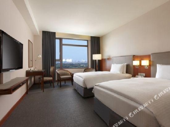 台中港酒店(Taichung Harbor Hotel)高級雙床間