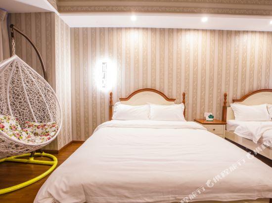星倫萬達廣場主題公寓(廣州長隆店)地中海式親子房
