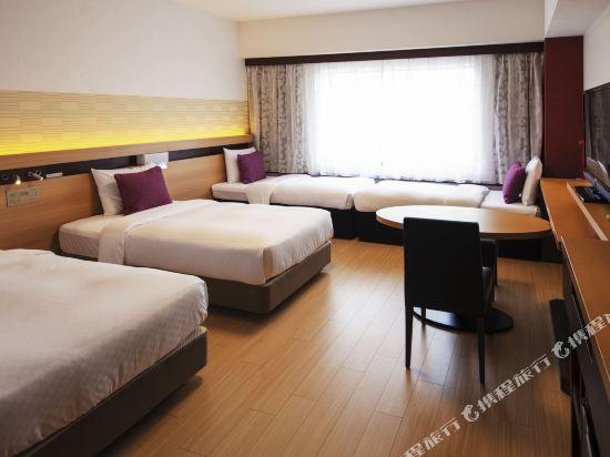 大都會東京城飯店(Hotel Metropolitan Edmont Tokyo)東樓翻新家庭房