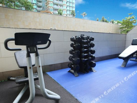 香港8度海逸酒店(Harbour Plaza 8 Degrees)健身房