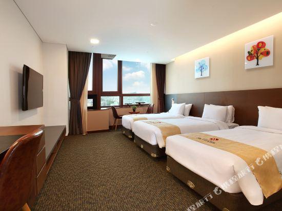 空中花園東大門金斯敦酒店(Hotel Skypark Kingstown Dongdaemun)三人房