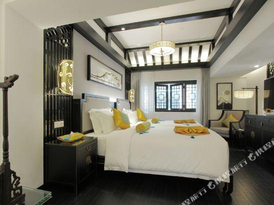 夢景望月精品酒店(昆明南屏步行街店)(Mengjing Wangyue Boutique Hotel (Kunming Nanping Pedestrian Street))豪華雙床房