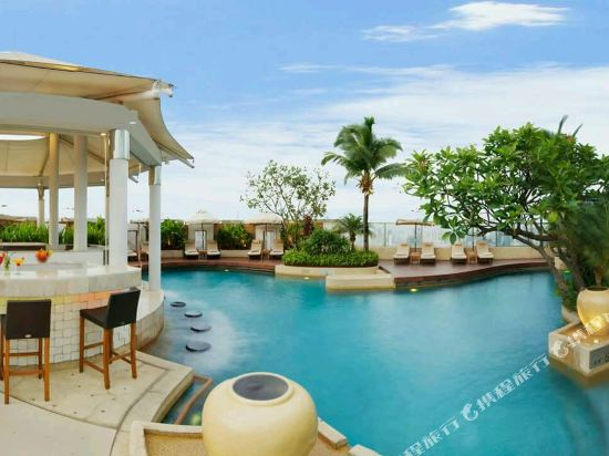 曼谷洲際酒店(InterContinental Bangkok)室外游泳池