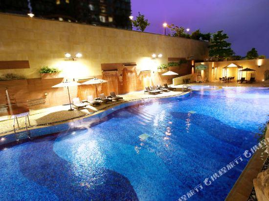 香港8度海逸酒店(Harbour Plaza 8 Degrees)室外游泳池