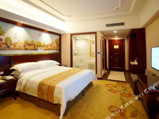 維也納國際酒店(上海浦東機場自貿區店)(Vienna International Hotel (Shanghai Pudong Airport Free Trade Zone))高級大床房