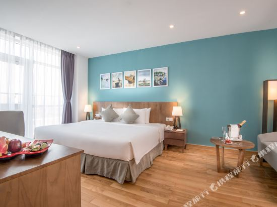 峴港皇家蓮花酒店(Royal Lotus Hotel Da Nang Managed by H&K Hospitality)Executive-Suite-spacious-bedroom