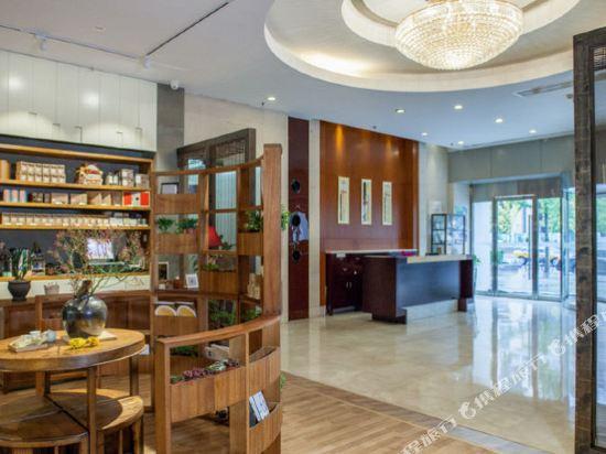 北京金融街酒店式公寓(The Apartments on Financial Street)大堂吧