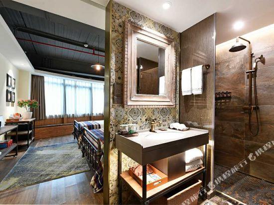 美豪酒店(深圳機場店)(Mehood Hotel)愛丁堡雙床房