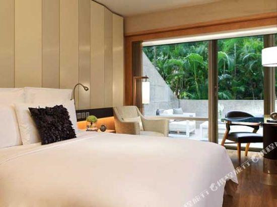 香港萬麗海景酒店(Renaissance Harbour View Hotel Hong Kong)露台花園景觀客房