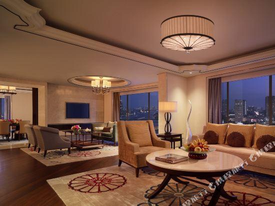 曼谷香格里拉酒店(Shangri-La Hotel Bangkok)Presidential Suite - Living room