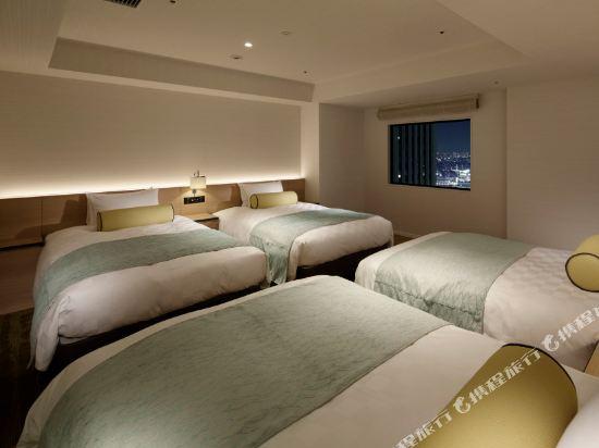 東京太陽城王子大酒店(Sunshine City Prince Hotel Tokyo)全景樓層四人房