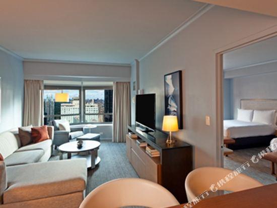 紐約市中心希爾頓酒店(New York Hilton Midtown)行政兩張雙人床套房