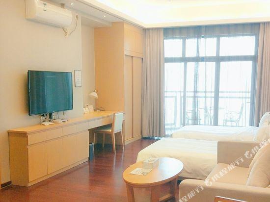 伊蓮·薩維爾國際酒店公寓(廣州珠江新城店)全景大床房