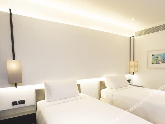 曼谷安曼納酒店(Amara Bangkok Hotel)Deluxe Room -Twin beds