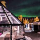 北極圈聖誕老人冰屋