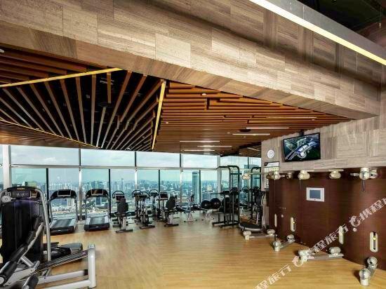 新加坡濱海灣金沙酒店(Marina Bay Sands)健身房