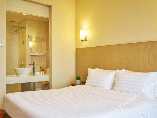 香港悅品海景酒店(原觀塘麗東酒店)(Hotel COZI Harbour View)高級半海景客房