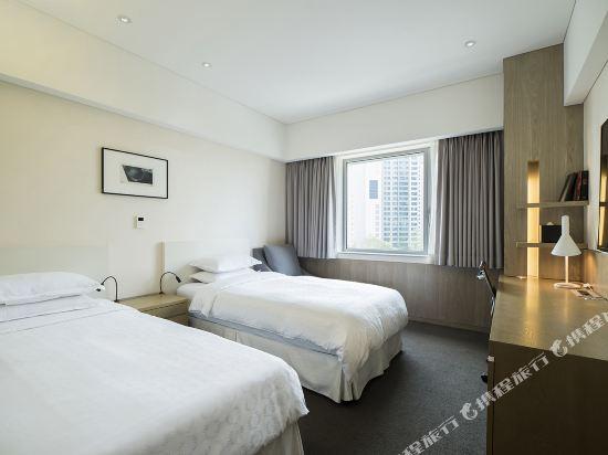 首爾喜來登帕拉斯江南酒店(Sheraton Seoul Palace Gangnam Hotel)豪華雙床房
