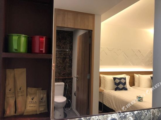曼谷維拉酒店(Vela Hotel Bangkok)雙床房