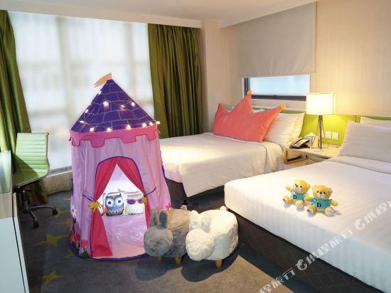 香港荃灣帝盛酒店(Dorsett Tsuen Wan)家庭主題客房