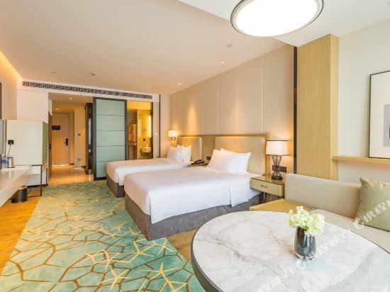 上海智微世紀麗呈酒店(REZEN HOTEL SHANGHAI ZHIWEI CENTURY)豪華智能雙床房