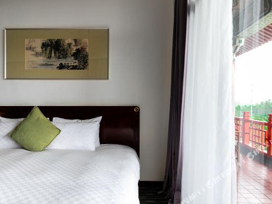 高雄圓山大飯店(The Grand Hotel)湖景雙床房
