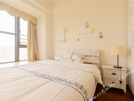 富米國際公寓(珠海華髮商都店)(Fumi Apartment Hotel (Zhuhai Huafa Mall))豪華兩房兩床套房