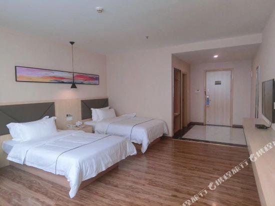 維多利亞公寓(廣州奧園廣場店)(Victoria Apartment (Guangzhou Aoyuan Plaza))標準雙床房