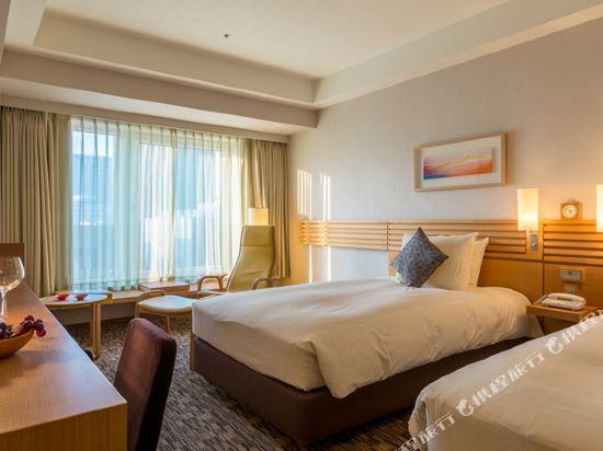 札幌三位神大酒店(Hotel Resol Trinity Sapporo)豪華園景雙床房