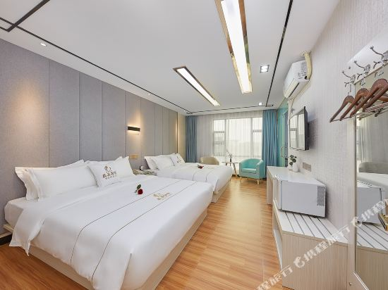 廣州威尼斯特酒店(Wei Ni Si Te Hotel)奢華商旅雙床房