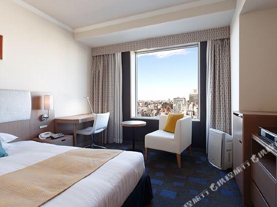 東京東急澀谷卓越大飯店(Shibuya Excel Hotel Tokyu Tokyo)園景高級單人房