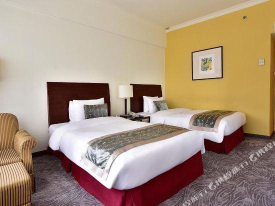 台北凱撒大飯店(Caesar Park Hotel Taipei)高級雙床間設加床