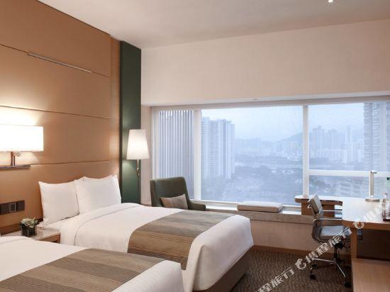 香港沙田萬怡酒店(Courtyard by Marriott Hong Kong Sha Tin)豪華雙床客房