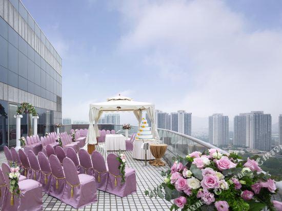 香港嘉湖海逸酒店(Harbour Plaza Resort City)眺望遠景