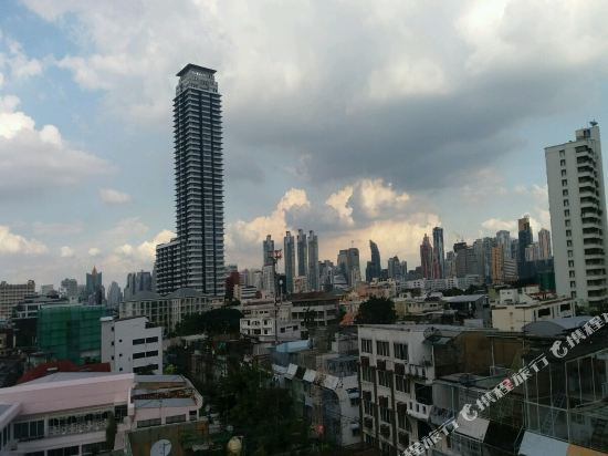 沙吞目標酒店(The Aim Sathorn Hotel)眺望遠景