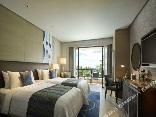 哥打京那巴魯香格里拉丹絨亞路酒店(Shangri-La's Tanjung Aru Resort & Spa Kota Kinabalu)丹絨樓高級海景客房