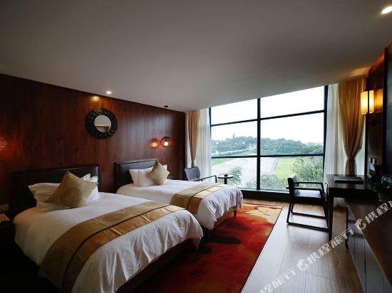 天目湖御湖半島温泉酒店(The Peninsula of Royal Lake Hotels)湖景標間