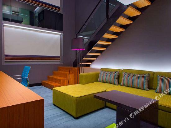 吉隆坡中環廣場雅樂軒酒店(Aloft Kuala Lumpur Sentral)甜蜜套房