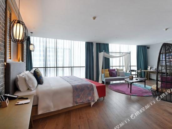 美豪麗致酒店(廣州五羊新城店)城景花園套房2