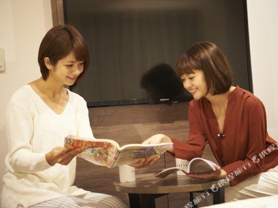 東京相鐵弗雷薩旅店銀座七丁目酒店(Sotetsu Fresa Inn Ginza-Nanachome)豪華雙床房