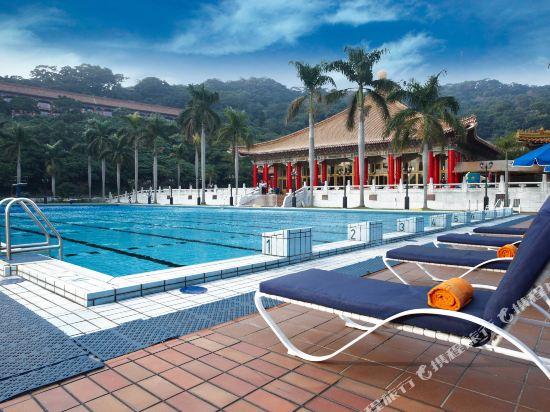 台北圓山大飯店(The Grand Hotel)室外游泳池