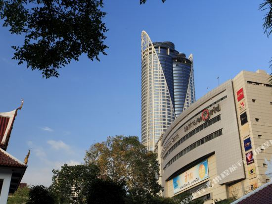 曼谷盛泰瀾中央世界商業中心酒店(Centara Grand at Centralworld)外觀